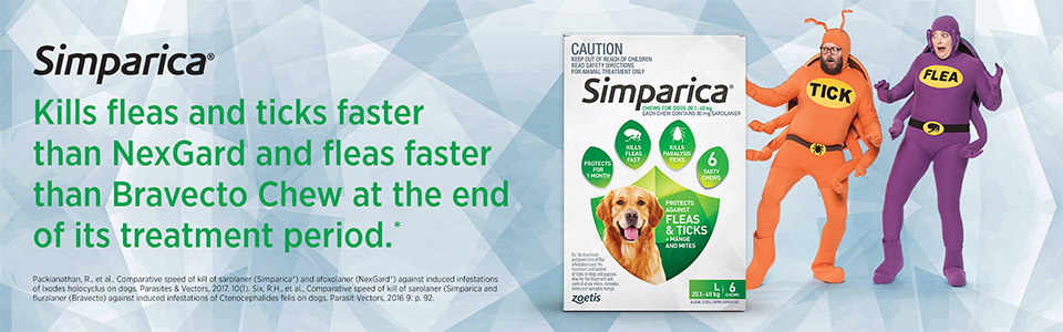 Simparica  Works fast and lasts | Zoetis
